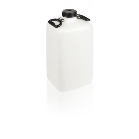 Plastová láhev 25l hranatá s madly