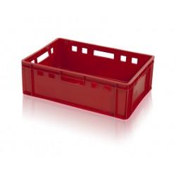 Plastová přepravka na maso E2 600x400x200mm (bedna na maso)