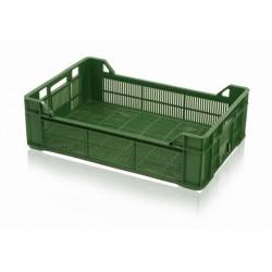 Plastová přepravka na ovoce a zeleninu nízká 60x40x17,2cm