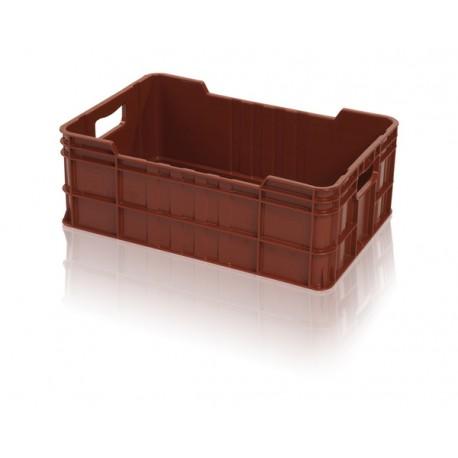 Bedna na maso 600x400x220 (potravinářská plastová přepravka na maso)