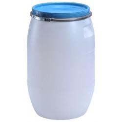Plastový sud se sponou 60l (hobok se sponou)