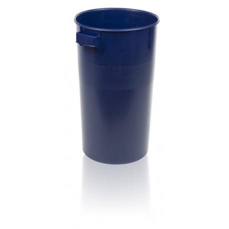 Plastová nádoba 60 litrů s víkem červená