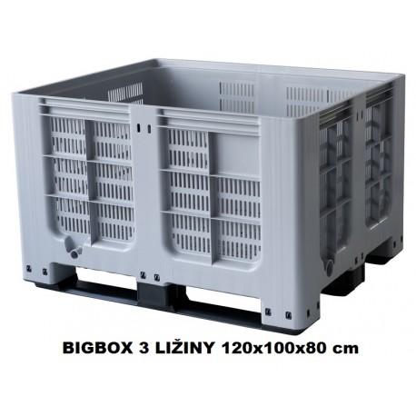 Bigbox děrovaný 3 ližiny