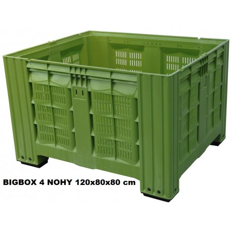 Bigbox děrovaný 4 nohy