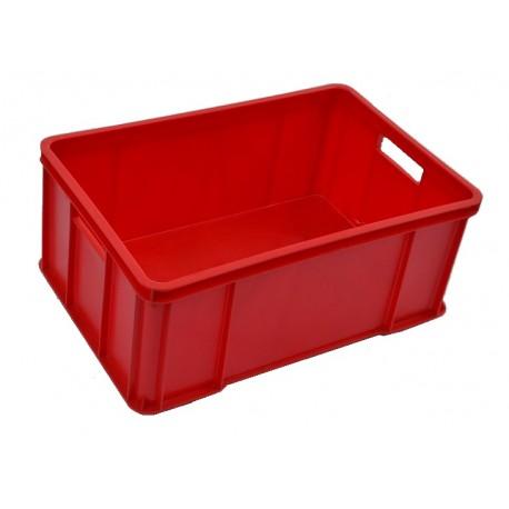 Plastová přepravka červená