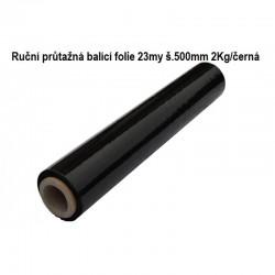 strečová fólie 500mm 23my 2kg černá
